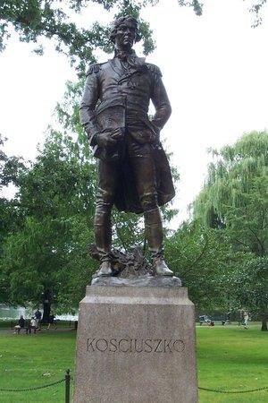Boston Public Garden: Kościuszko Statue