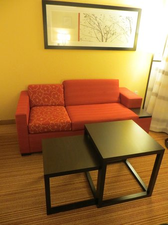 Courtyard by Marriott Burlington Mt. Holly Westampton : Pull-Out Couch in a King Room