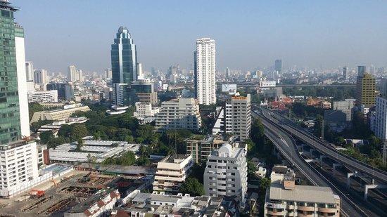 Novotel Bangkok Ploenchit Sukhumvit: Aussicht aus meinem Zimmer