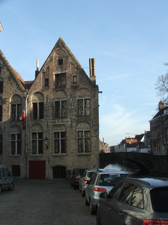Hotel Ter Brughe: View of the hotel