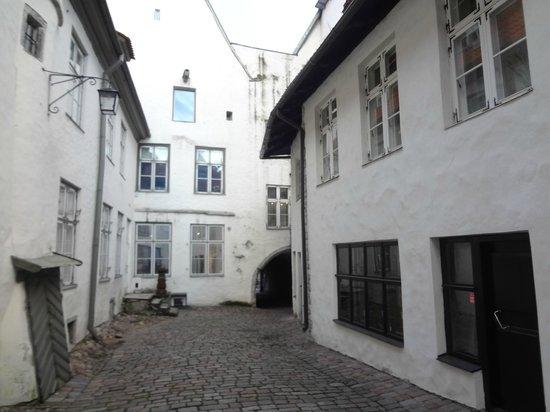 Kuninga Apartments: внутренний дворик