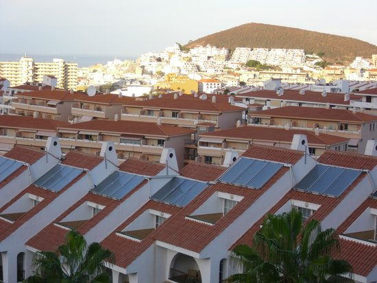 Paradise Park Fun Lifestyle Hotel: Blick vom Balkon ,vvorne Juniorsweeten