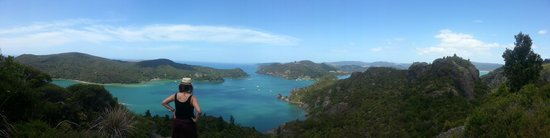 Whangaroa, Nouvelle-Zélande : View from Top Dukes Nose