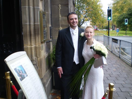 Convivio Chester: Just Married