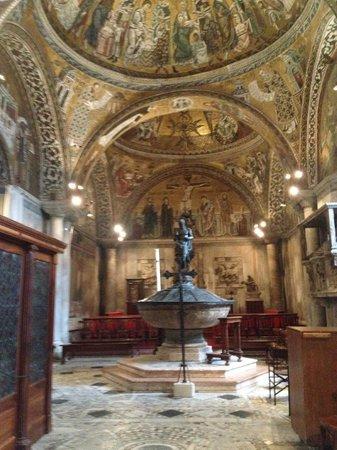 Markusdom (Basilica di San Marco): the baptistry at San Marco basilica