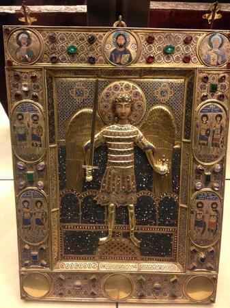 Markusdom (Basilica di San Marco): St Michael, AKA Mr Bean