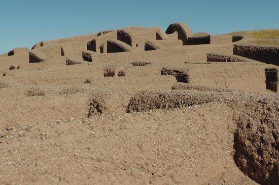 Paquime: Detalle de las ruinas