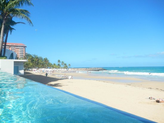 View From In The Adult Infinity Pool Overlooking Private