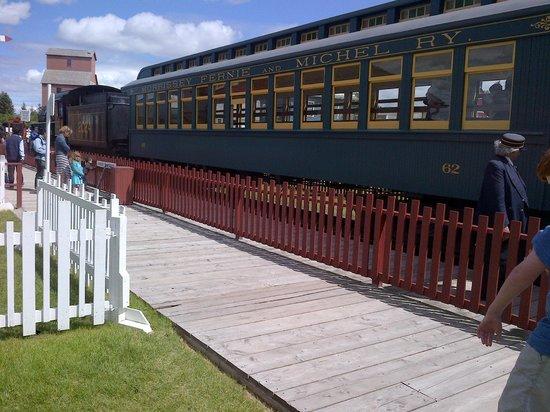 Heritage Park Historical Village : Il treno d'epoca