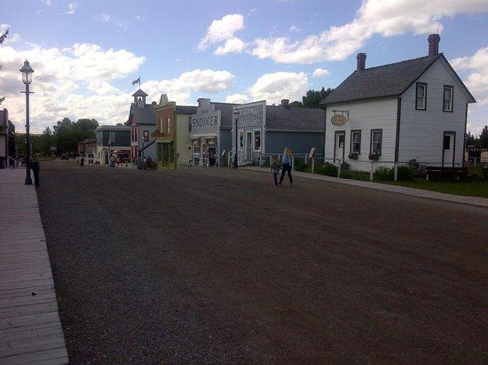 Heritage Park Historical Village: Vista di una delle vie