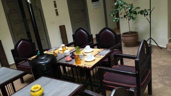 Dar Andamaure: Breakfast