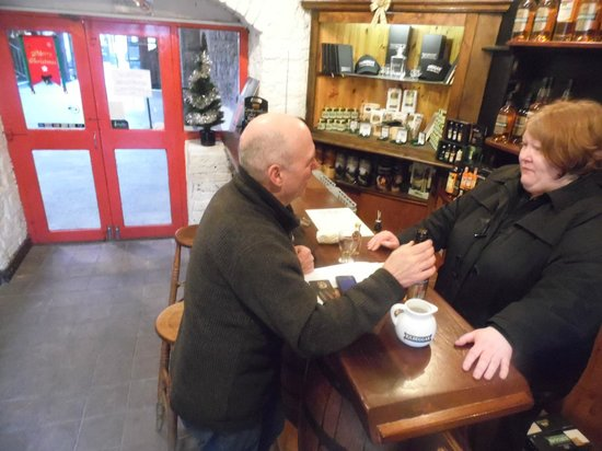 Old Kilbeggan Distillery: inside kilbeggan distillery