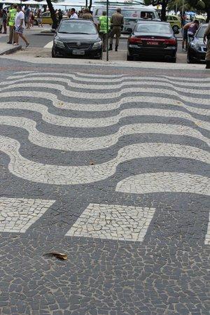 Arena Copacabana Hotel: passeo de copacabana