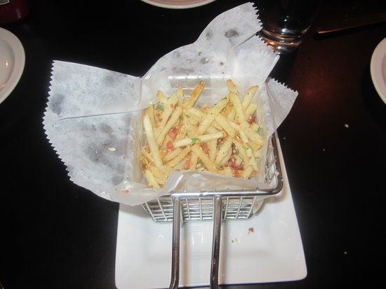 Black Pig: Truffle oil fries were amazing!