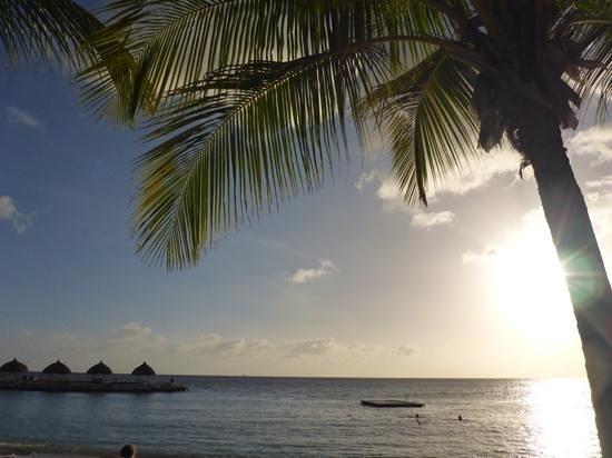Blue Bay Curacao : Blauw Baai, eind van de middag