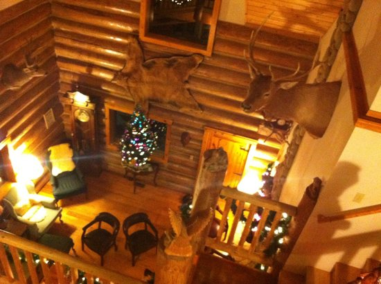 Wallace Falls Lodge/BB: Living Room