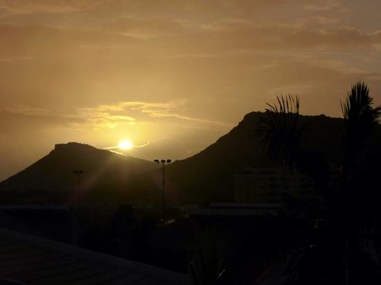 Blue Bay Curacao : Uitzicht vanuit appartement in The Garden