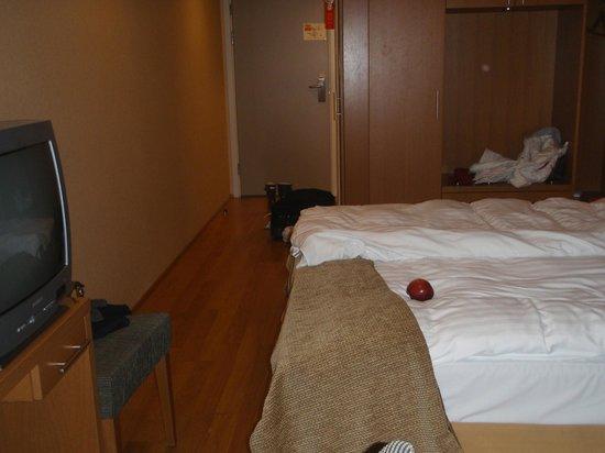 Hotel Reykjavik Centrum: Other side (still my apple)