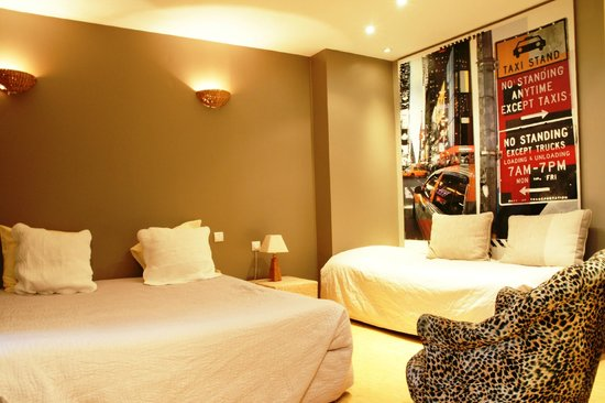 Hôtel Régina : Chambre