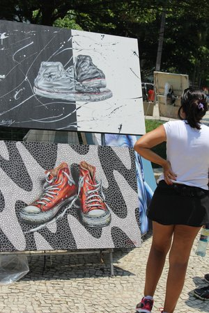 Feira Hippie de Ipanema: art