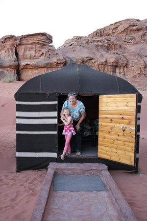 Wadi Rum Green Desert: Our private tent