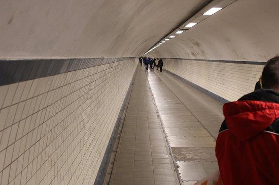 St. Anna's Tunnel / Pedestrians' Tunnel : Túnel
