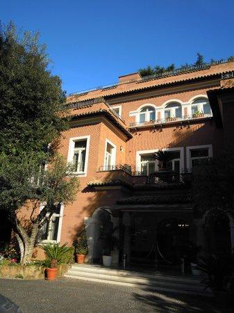 Hotel Principe Torlonia: Facciata