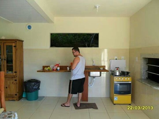 Pousada Porto Belo: Nesse dia decidimos cozinhar