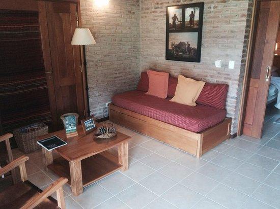 Il Belvedere: Estar con sofá cama