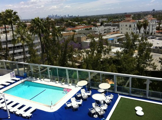 The Standard, Hollywood: Great views