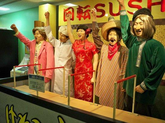 Fuji TV Odaiba: Awesome characters