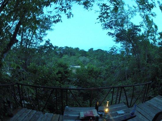 Bua River Lodge: View from Island B porch