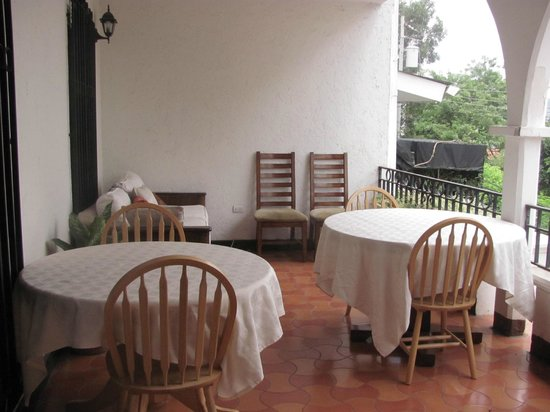 President House Hotel: terraza