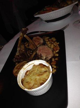 Mirabelle Restaurant : Lovely lamb