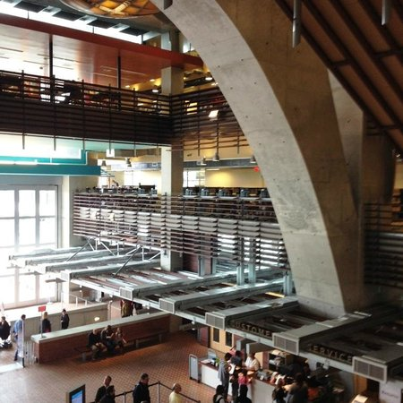 San Diego Central Library: The central reception