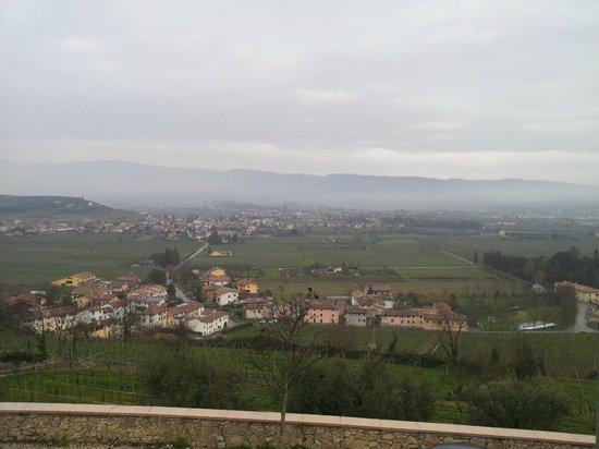 Castrum Relais di Borghetti: Panorama da esterno zona ristorante