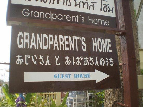 Grandparent's Home : Pancarte à ne pas rater