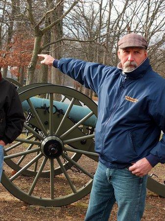 R.C.M History Tours : Bob Murphy - at Gettysburg