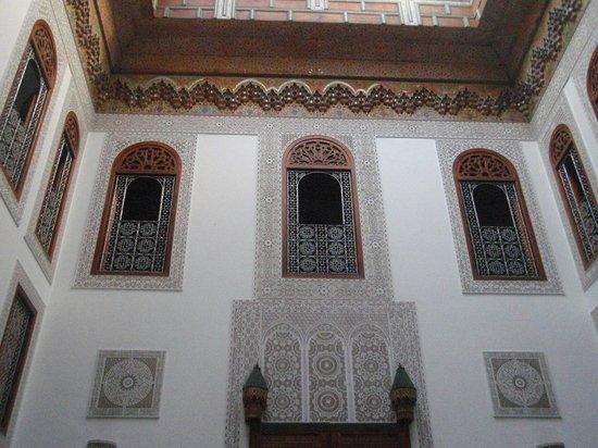 Riad La Perle De La Medina: El patio interior
