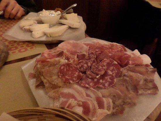 Osteria Boccabuona: Taglieri