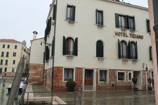 Hotel Tiziano : la facciata dell'hotel