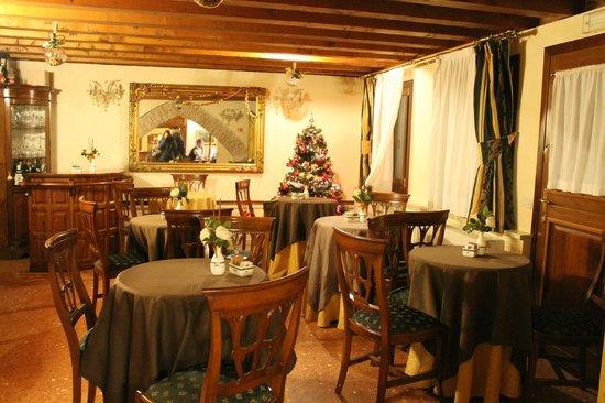 Hotel Tiziano: la sala per la colazione