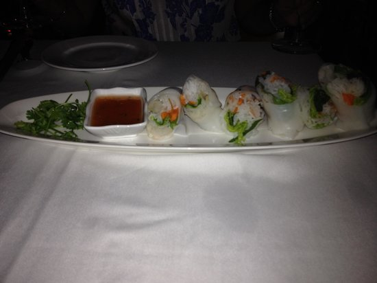 The Gourmet Corner Restaurant : Spring rolls