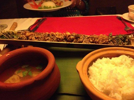 The Gourmet Corner Restaurant: Bamboo beef