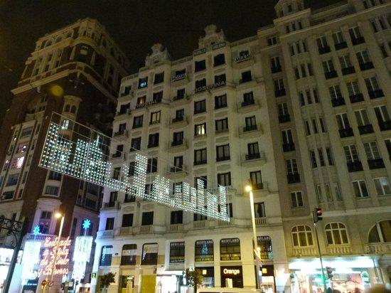 Hostal Josefina: vista externa do hotel