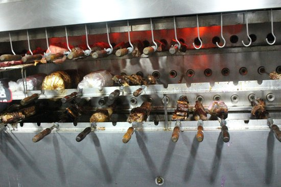 Carretao Classic Grill Ipanema: skewer grill