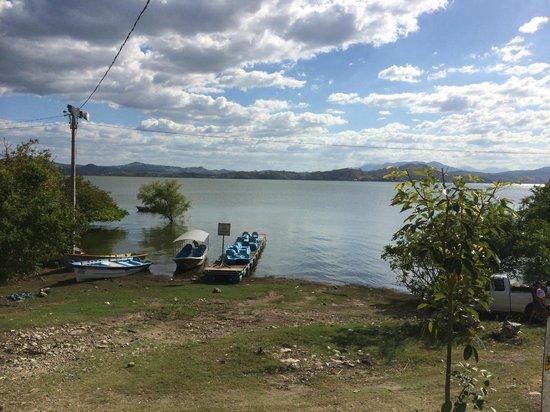 Metapan, El Salvador: View from the Cabana