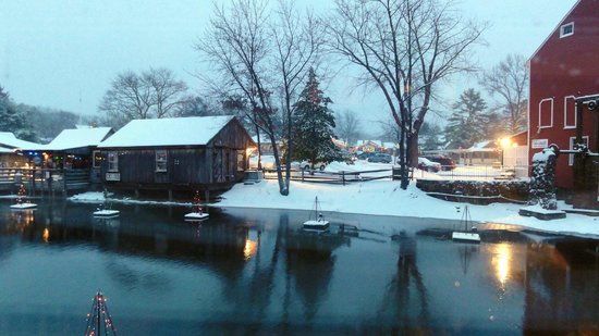 The Colonial Inn at Historic Smithville : A post card view from our room!