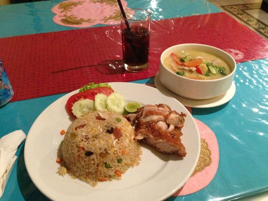 Imm Fusion Sukhumvit: food (dinner) I ordered from the restaurant