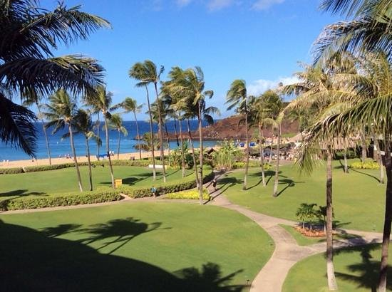 Sheraton Maui Resort & Spa : View from our upgraded rooms, amazing!